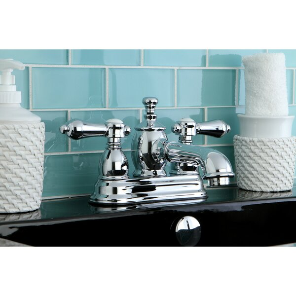 Bel Air Centerset Bathroom Faucet with Drain Assembly by Kingston Brass Kingston Brass