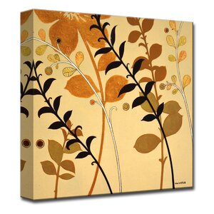 'Warm Autumn Breeze' by Norman Wyatt Jr. Painting Print on Wrapped Canvas by Ready2hangart