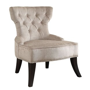 Online Reviews Colton Vintage Tufted Velvet Side Chair by Ave Six