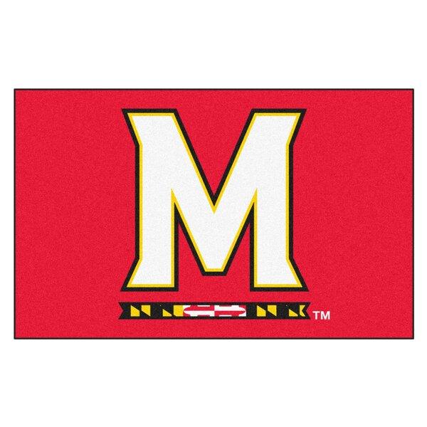 Collegiate NCAA University of Maryland Doormat by FANMATS