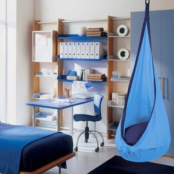 Iddings Kids Hanging Pod Hammock Swing Chair by Zoomie Kids