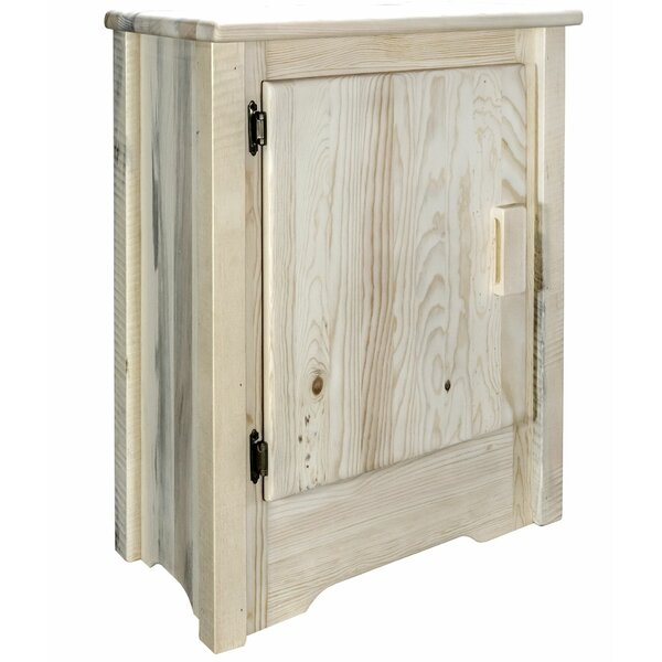 Abella Left Hinged 1 Door Accent Cabinet by Loon Peak