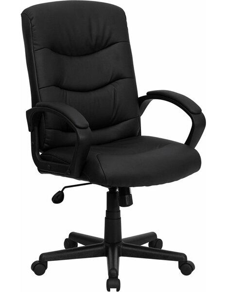 Kropp Mid-Back Ergonomic Swivel Office Chair by Symple Stuff