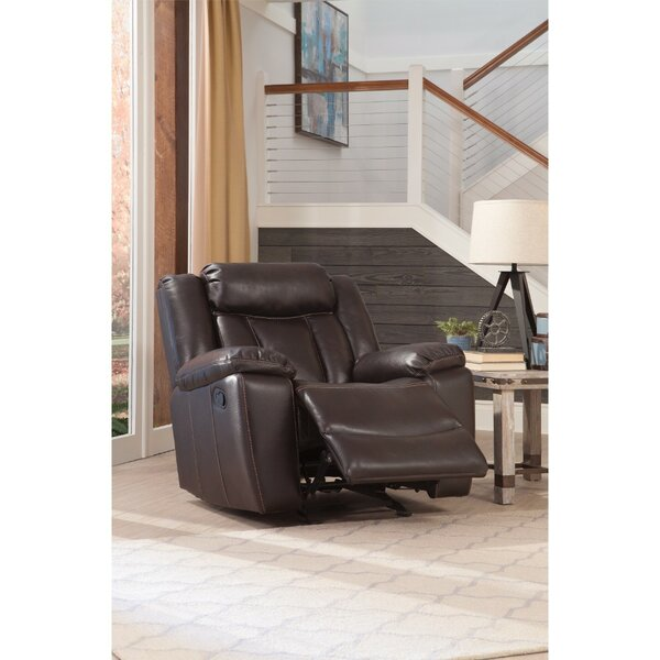 Baglione Ultra Comfortable Manual Glider Recliner [Red Barrel Studio]