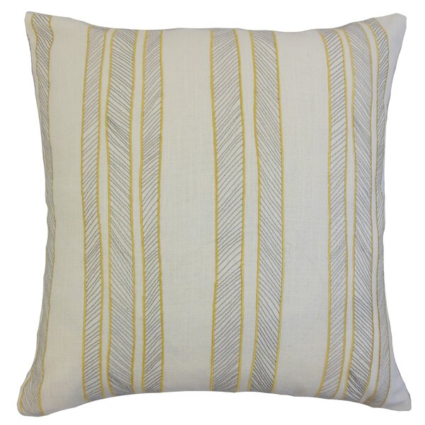 Drum Stripes Throw Pillow by The Pillow Collection