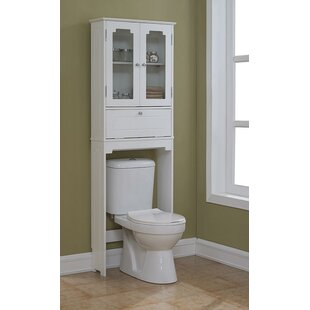 modern contemporary over the toilet storage you ll love wayfair rh wayfair com over the toilet cabinet oak over the toilet cabinet ikea