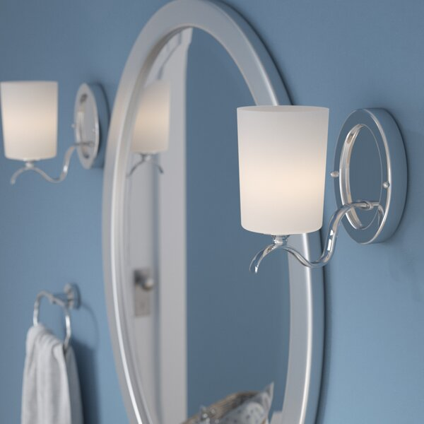 Greenwell 1-Light Bath Sconce by Three Posts