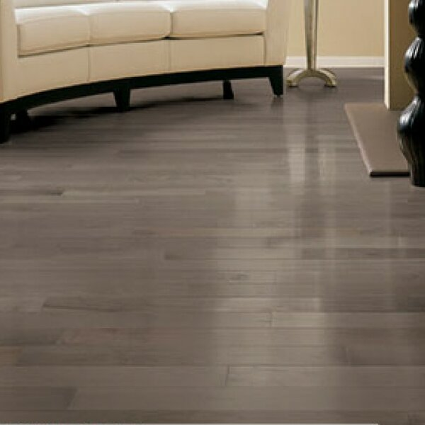 Specialty 5 Solid Maple Hardwood Flooring in Greystone by Somerset Floors