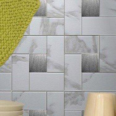 Instant Mosaic 12 X 12 Metal Peel Stick Mosaic Tile In Faux