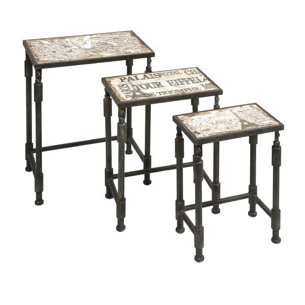 San Juan Capistrano 3 Piece Nesting Tables by Trent Austin Design
