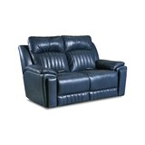 Silver Screen Leather Reclining Loveseat by Southern Motion