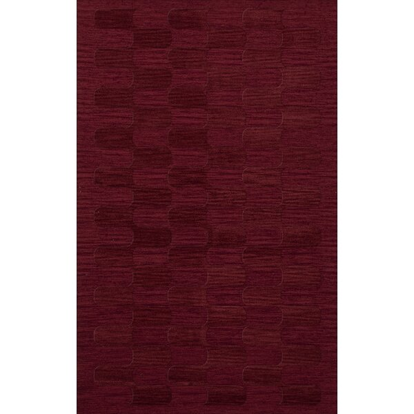 Dover Rich Red Area Rug by Dalyn Rug Co.