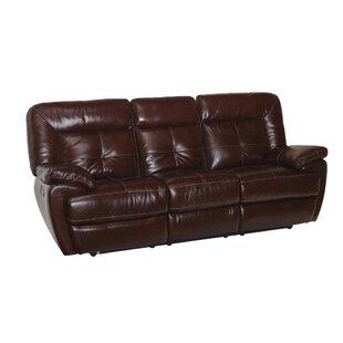 Doegolia Leather Power Reclining Sofa