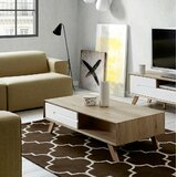 Constantine Coffee Table with Storage by George Oliver