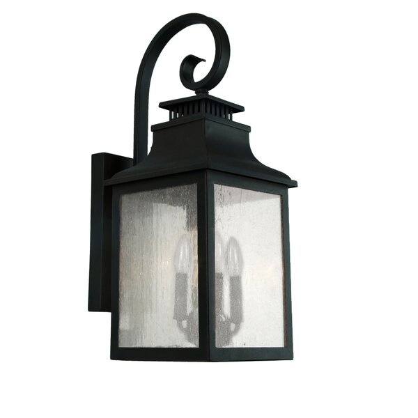Binegar 4-Light Outdoor Wall Lantern by Fleur De Lis Living