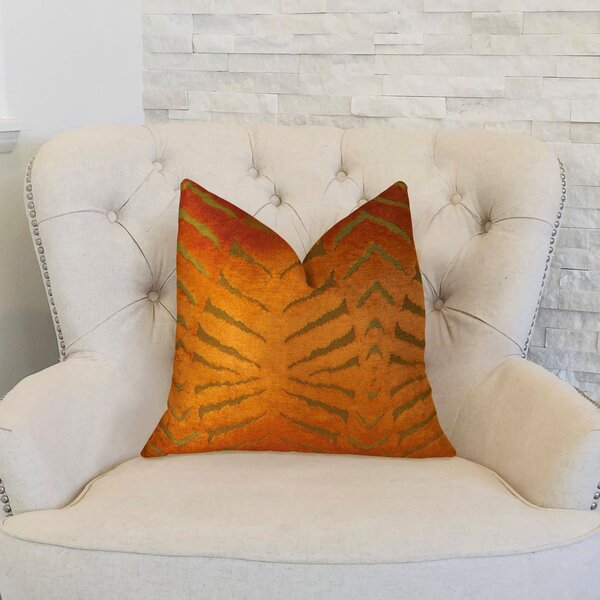 Magnetism Double Sided Throw Pillow by Plutus Brands