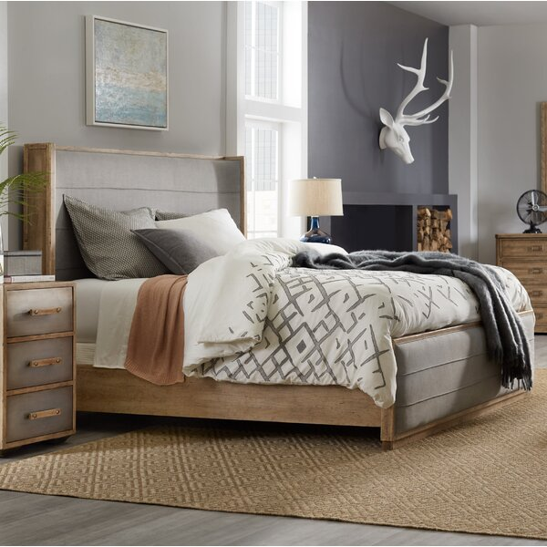 Urban Elevation Upholstered Standard Bed by Hooker Furniture