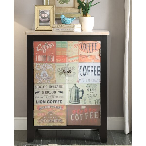 Hayes Coffee Sign 2 Door Accent Cabinet by Red Barrel Studio Red Barrel Studio