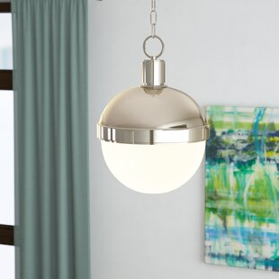 Best Reviews Taya 1-Light Pendant By Langley Street