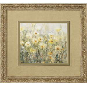 Summer In Bloom 2 Piece Framed Painting Print Set by Darby Home Co