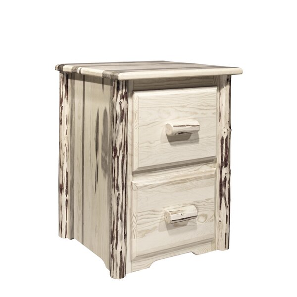 Abordale 2 Drawers File Cabinet by Loon Peak
