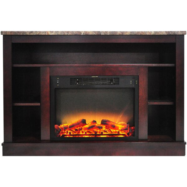 Eudora Electric Fireplace by Charlton Home