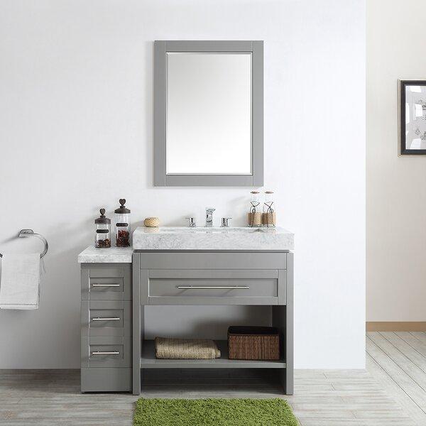Malt 48 Single Vanity Set with Mirror by Highland Dunes