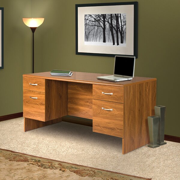 Lewisville 4 Piece L-Shape Desk Office Suite by Red Barrel Studio