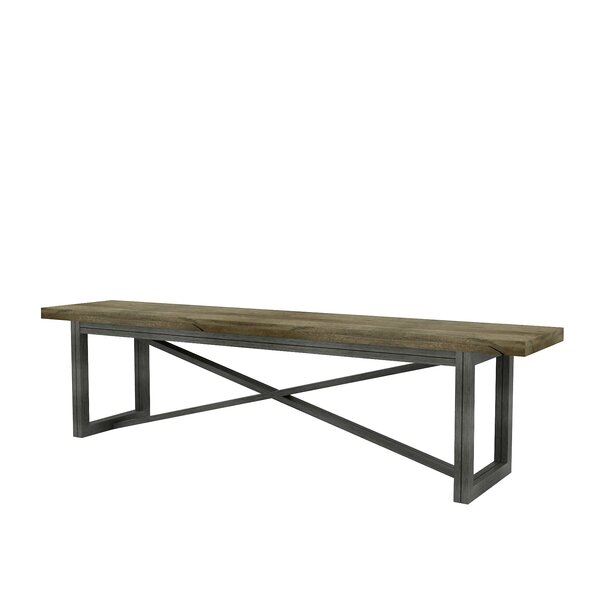 Grovetown Wood Bench by 17 Stories