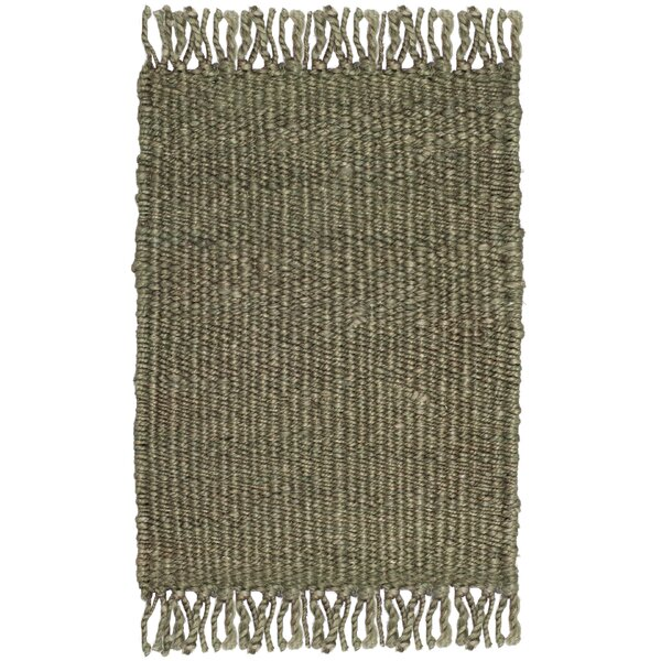 Lookout Fiber Hand-Woven Green Area Rug by Laurel Foundry Modern Farmhouse