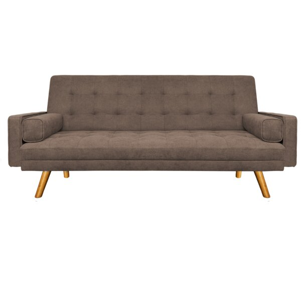 Amily 82'' Square Arm Sofa Bed By Everly Quinn