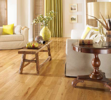 Character 4 Solid Oak Hardwood Flooring In Natural by Somerset Floors