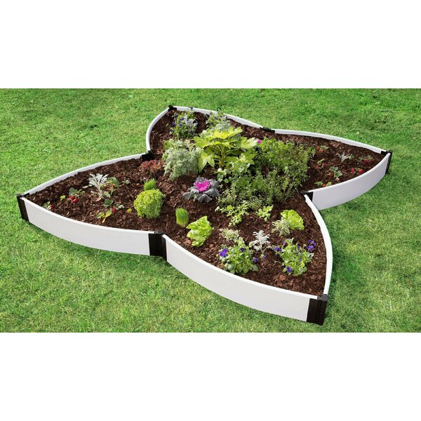 Butterfly Pollinator 10 ft x 10 ft Composite Raised Garden by Frame It All