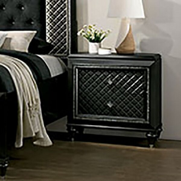 Brennon 2 Drawer Nightstand by Everly Quinn