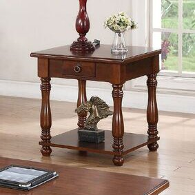 Kaitlynn End Table with Storage by Alcott Hill Alcott Hill