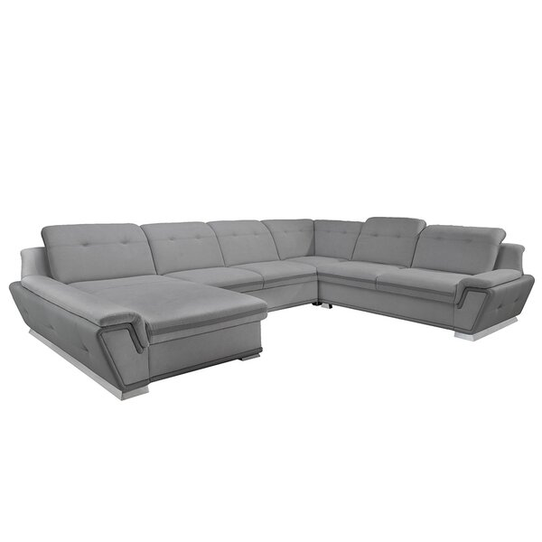 Donecia Sleeper Sectional by Orren Ellis