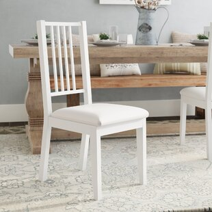 Charmine Comfortable Upholstered Dining Chair With Lustrous Finish Seat