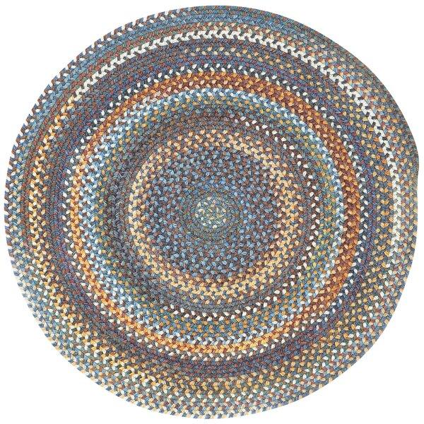 Phoebe Medium Blue Variegated Rug by August Grove