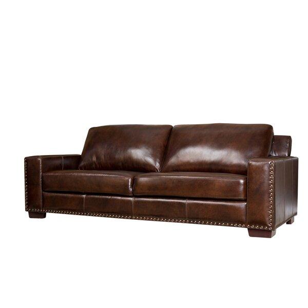 Lapidge Leather Sofa by Trent Austin Design
