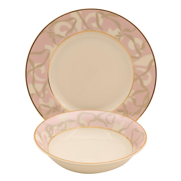 Shadow Ivory China 24 Piece Completer Set by Shinepukur Ceramics USA, Inc.