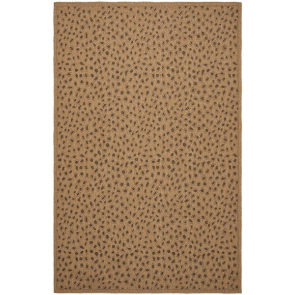 Catori Gold Indoor/Outdoor Area Rug by World Menagerie