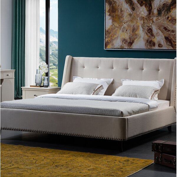 Cozart Upholstered Platform Bed by Darby Home Co