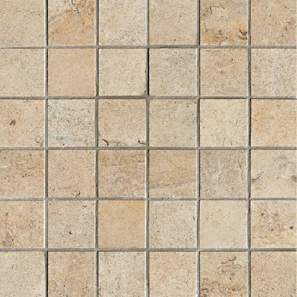 Everstone 2 x 2 Porcelain Mosaic Tile in Dore by Travis Tile Sales