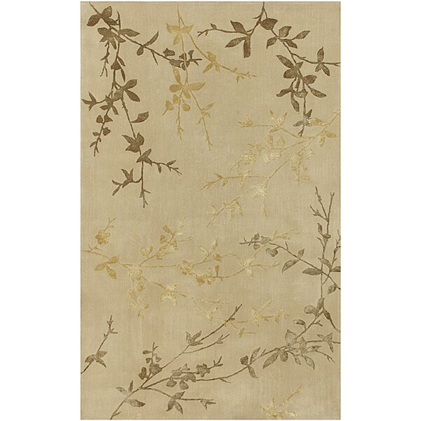 Gonzalo Tan/Gold Rug by August Grove