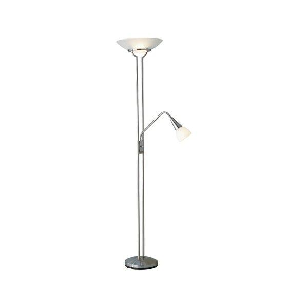 Aske Duo 71 Torchiere Floor Lamp by Orren Ellis