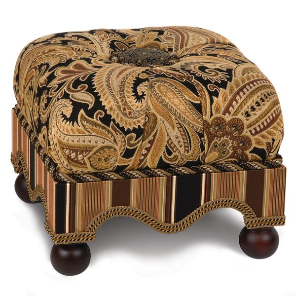 Langdon Tufted Ottoman by Eastern Accents