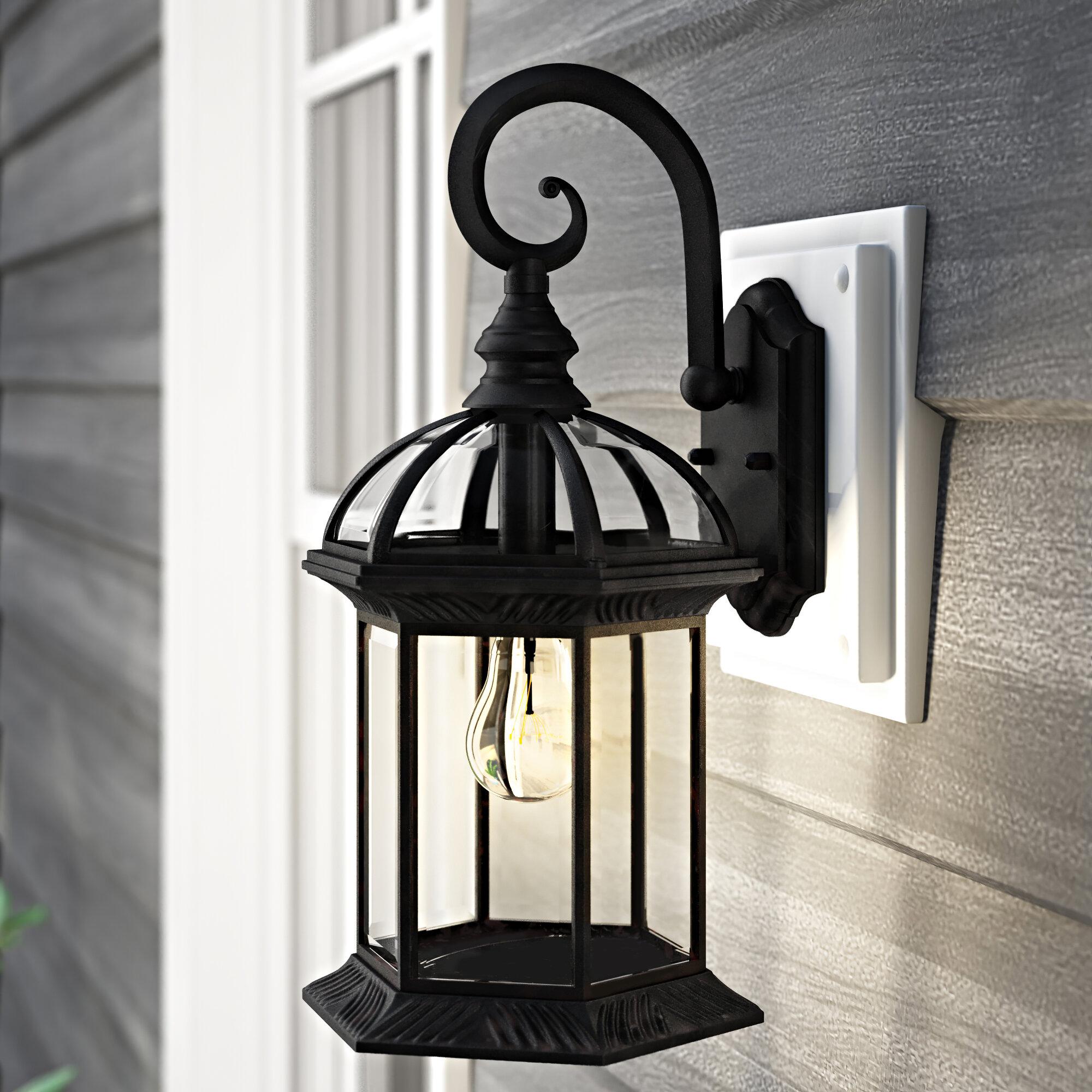 Laurel Foundry Modern Farmhouse Powell Outdoor Wall Lantern