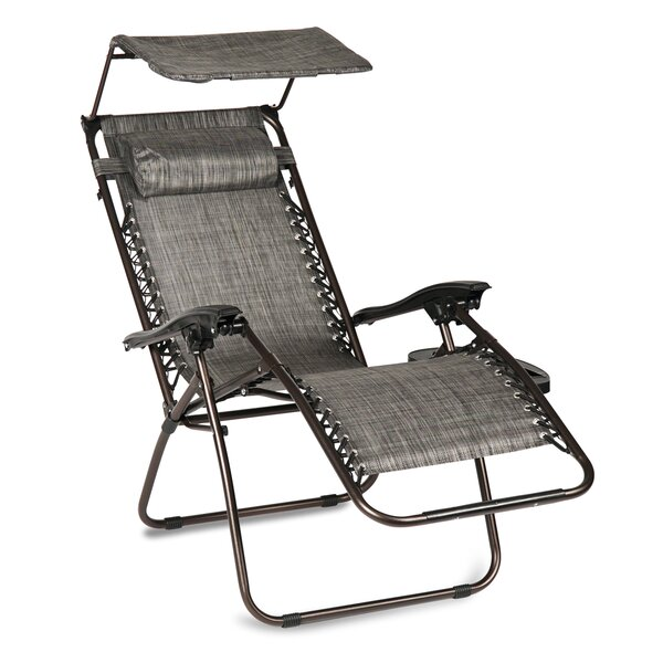 Hesson Zero Gravity Patio Chair with Cushions by Winston Porter Winston Porter