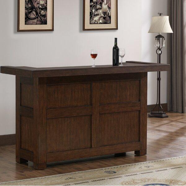 Greggory Bar with Wine Storage by Canora Grey Canora Grey