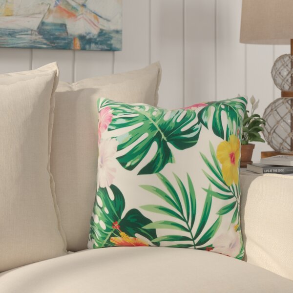 Sherwick Bloom Throw Pillow by Bay Isle Home
